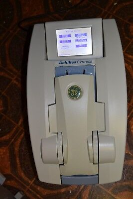 GE Achilles Express Bone Densitometer and OsteoReport PC Win SOFTWARE incl case!