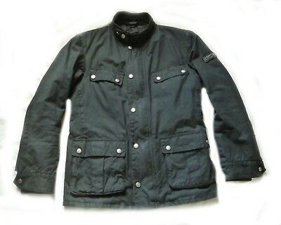 "Superb £225 Barbour International "" Duke  "" Wax Jacket - S - Steve Mcqueen - Vgc"