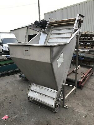 Stainless Steel Conveyor Hopper