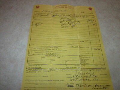 Original Purchase Order For 1966 Plymouth 426 Hemi