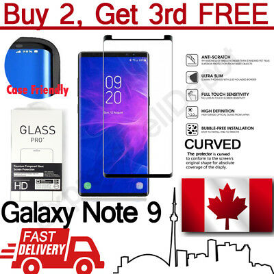 Premium Case Friendly Tempered Glass Screen Protector for Samsung Galaxy Note 9