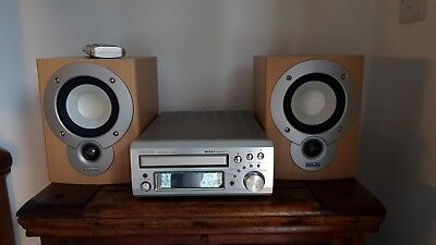 Denon UD-M31 Audio Shelf System CD Receiver Compact Hi-Fi with Matching Speakers