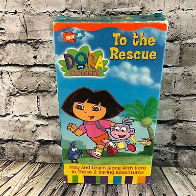DORA THE EXPLORER Vhs Video Move To The Music - $4.75 ...
