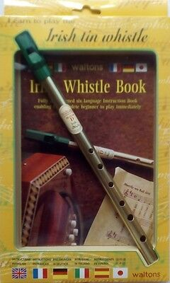 WALTONS Irish Tin Whistle Mellow D mit Lehrheft