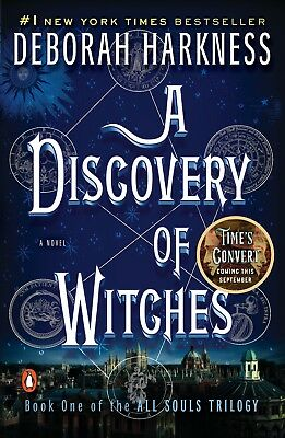 A Discovery of Witches by Deborah Harkness (E-delivery ebook-epub mobi pdf)