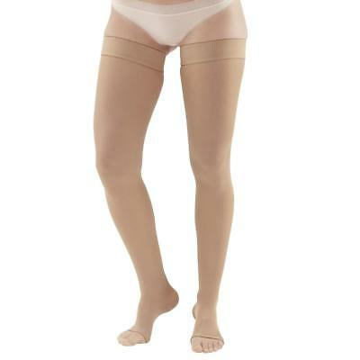 Ames Walker AW Style 265 Microfiber Opaque 20-30mmHg Firm Compression Open Toe