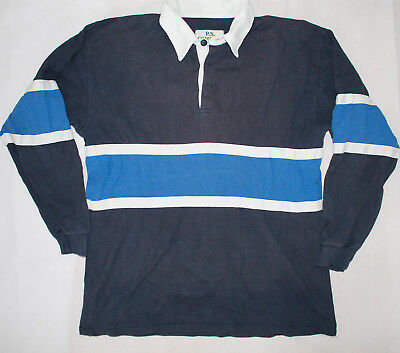 Vintage P.S. Company Sportswear Rugby Shirt Streifen 52/54 L 90s casual vtg