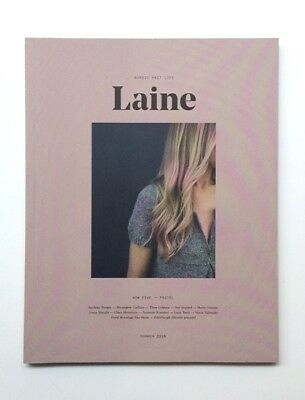 Laine Magazine No 5, Inspirational, sought-after knits journal from Finland