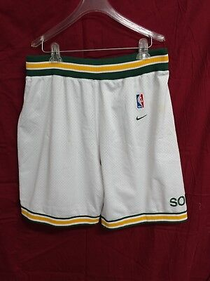 1b53598b5adf SEATTLE SUPERSONICS SONICS NBA Jersey Shorts Nike Men Medium As is ...