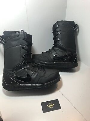 crazy price purchase cheap new appearance NIKE SB VAPEN SNOWBOARD BOOTS 447125-002 Black On Black Rare ...