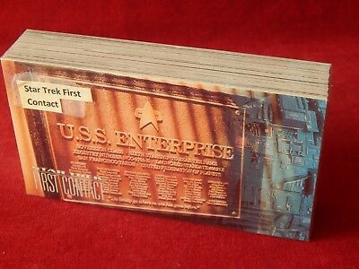 Set Of Star Trek First Contact Trading Cards Skybox 1996