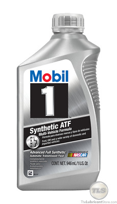 Mobil 1 Synthetic ATF, 6 qt. MOBIL 1 112980 6 pack