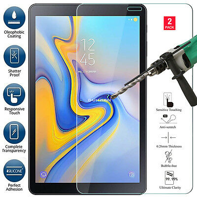 """2PACK TEMPERED GLASS Screen Protector For Samsung Galaxy Tab A 10.5"""" SM-T595-590"""