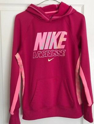 1eb030e91cc1 Nike Women s M Therma-Fit Hoodie Sweatshirt Hot Pink Pink CUTE CUTE!