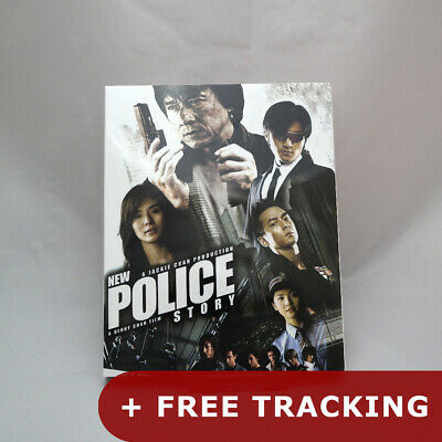 New Police Story (2017, Blu-ray) Slip Case Limited Edition / Jackie Chan
