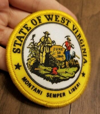 State of West Virginia Patch, excellent condition