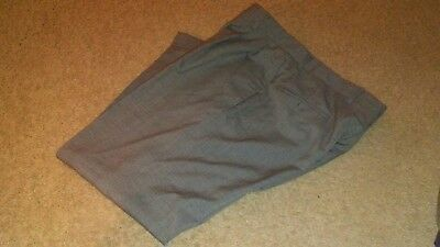 Ryan Seacrest NEW Gray Men 32x34 Dress Plaid Modern Wool Stretch Pants $175 #195