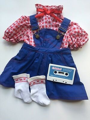 Playmates Cricket Goes to the County Fair Outfit & Cassette