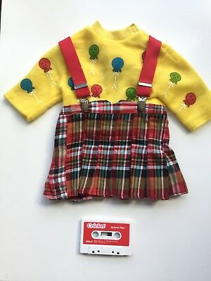 Playmates Cricket School Time Outfit & Cassette