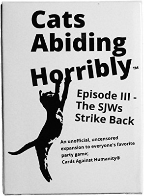 Cards Against Humanity Expansion Cats Abiding Horribly Ep 3 The SJWs Strike Back
