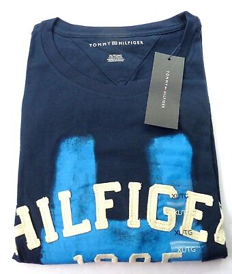 XL or XXL NWT New with Tags Tommy Hilfiger Men/'s Heritage Graphic T-Shirt Tee