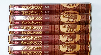 Hem-Bulk Sandalwood Incense Sticks 100-Stick  Free Shipping
