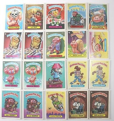 Garbage Pail Kids Cards Original Series 4 Lot of 20 No Doubles Fair To Good 132b