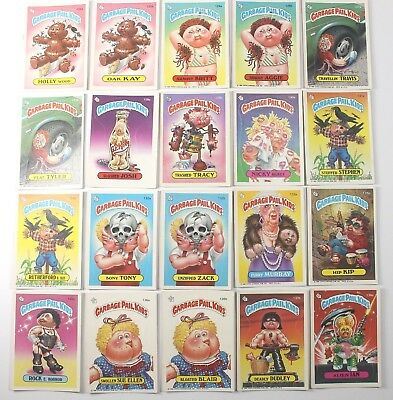 Garbage Pail Kids Cards Original Series 4 Lot of 20 No Doubles Fair To Good 125a