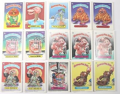 Garbage Pail Kids Cards Original Series 4 Lot of 15 Fair To Good Condition 153b