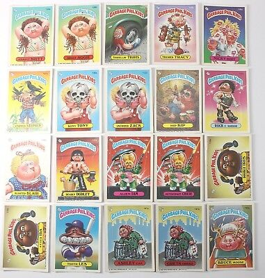 Garbage Pail Kids Cards Original Series 4 Lot of 20 No Doubles Fair To Good 126a