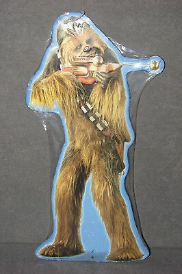 Star Wars: Chewbacca Metal Embossed Wall Figure Sign [NEW]