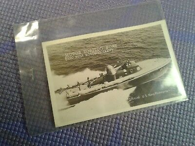 1944 Official Photograph Postcard of MOTOR TORPEDO BOAT
