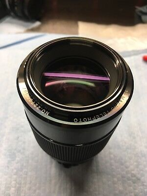 VIVITAR 100MM F2 8 1:1 Macro Lens--MD--Excellent ++ --Kiron Made--SN  22707367