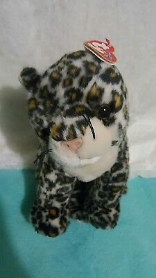 98eb09978d7 TY SNEAKY the LEOPARD BEANIE BUDDIES COLLECTION - with MINT TAG 13