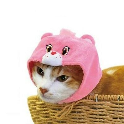 Care Bears Necos Wearable Costume Cat Hat - Love-A-Lot Bear