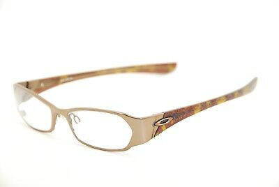 6a24696fe05f New Authentic Oakley Coto 2.0 Brown Chrome Titanium 50mm Frames Eyeglasses  RX
