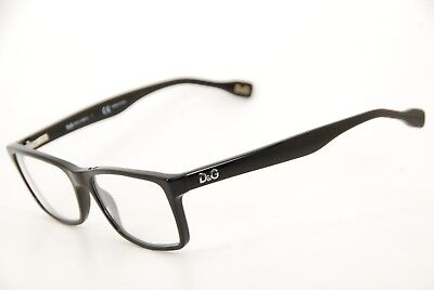 92575139d1a2 New Authentic Dolce   Gabbana DG 1233 501 Black 51mm Frames Eyeglasses RX