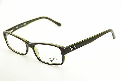 790d624324 New Authentic Ray Ban RB 5169 2383 Havana Green 54mm Frames Eyeglasses RX
