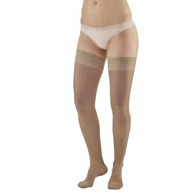 Ames Walker AW Style 4 Sheer Support 15-20mmHg Moderate Compression Closed Toe