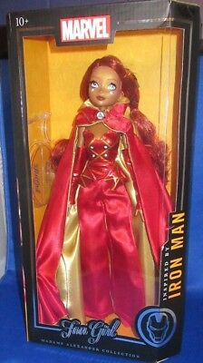 Madame Alexander  Collection Marvel Fan Girl Inspired By Iron Man Doll, New