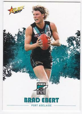 2017 AFL Select Common Card - Port Adelaide - Brad Ebert