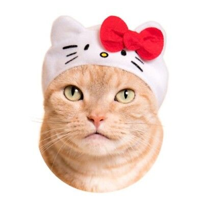 Sanrio Character Necos Wearable Costume Cat Hat - Hello Kitty