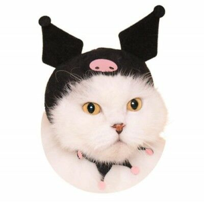 Sanrio Character Necos Wearable Costume Cat Hat - Kuromi