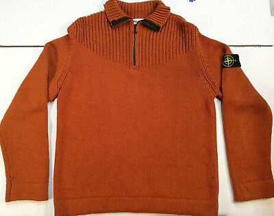 Stone Island Pullover Winter Maglione Jersey Sweater Vintage Lana Wool '80S