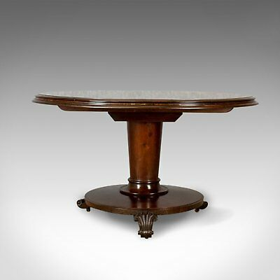 Antique Centre Table, English, William IV Breakfast Table, Mahogany Circa 1835