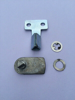 GAS / ELECTRIC METER BOX REPAIR KIT incs (Metal) LATCH LOCKS AND (Metal) KEY