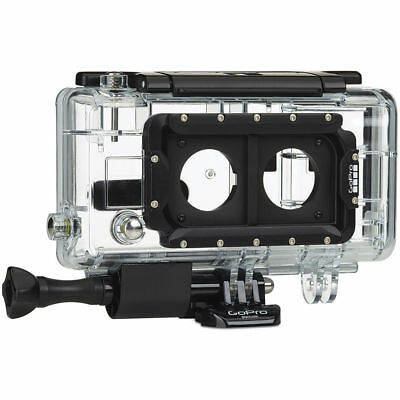 GoPro Hero 3+ Dual System Waterproof Housing Case For Camera  Clear