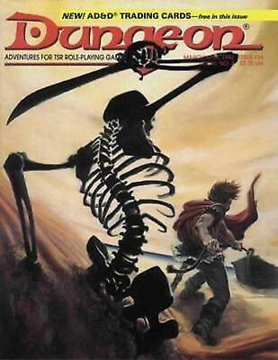 Dungeon Magazine Run 221 Issues + 2010 Annual PDF on DVD - Dungeons & Dragons