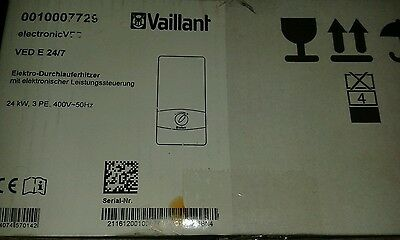 Vaillant Durchlauferhitzer VED E 24/7 electronic 24KW Made in Germany - VEDE24/7