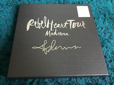 Madonna. Rebel Heart. Limited Autographed Edition LP Boxset. RARE
